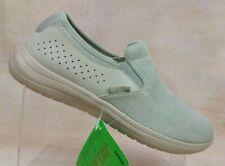 Crocs Reviva Khaki/Cobblestone Canvas Slip-On Loafer 206062-2U6 Men's 9