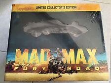 Mad Max Fury Road Collectors Edition Blu Ray + 2D Interceptor Box Limited New