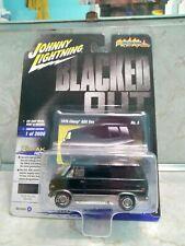 Johnny Lightning 1976 Chevrolet G20 Van Blacked Out Street Freaks