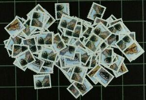 Weeda Canada Uncancelled postage, 100 x 'P' off paper Face Value $92 FV