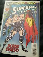 Superman The Man Of Steel #29 Jan 1994 'Blood Thirst'