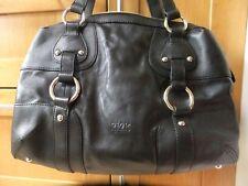 Ri2K London John Richmond Black leather overnight Large bag £180