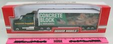 Menards ~  Freightliner Truck and Trailer with Concrete Block Billboard