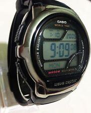 Casio  Mens Wave Ceptor Black Resin Watch WV-58U-1AVES