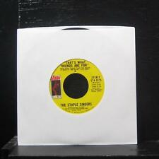 "The Staple Singers - City In The Sky / That's What Friends Are 7"" VG+ STA-0215"