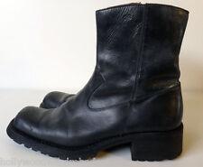 Sketchers HEEL snoot nose square cowboy ankle zipper biker collection 44 11 step