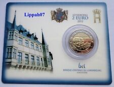 Luxemburg / Luxembourg speciale 2 euro 2012 Willem IV BU in Coincard