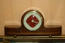 vintage antique table shelf mantel clock working SONNEBERG! RARE CASE! Germany