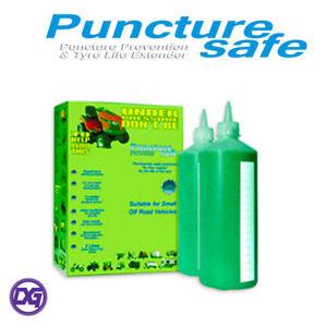SALE - Puncture Safe Tyre Sealant for Off Road Vehicles  2 x1 Litre Repair Kit