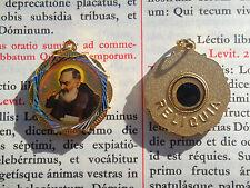 Vatican rare second class relic St. Padre Pio vestment medal pendant