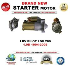 FOR LDV PILOT 200 1.9D 1994-2005 STARTER MOTOR 1.7kW 13 Teeth ** OE QUALITY **