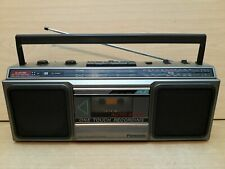 Panasonic RX-4910L  Ghettoblaster  Radio Recorder Cassette Kassettenrecorder