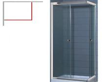 Box doccia GABBIANO 70X90X185 cm cabina docce scorrevole vetro due lati bagno