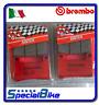 SUZUKI GSX R 1000 2009 > 2011 K9 PLAQUETTES DE FREIN BREMBO SA AVANT 2 PAIRES
