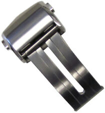 20mm Panatime Brushed Deployant Clasp For Tag Heuer