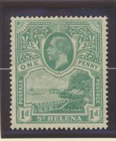 St. Helena Stamp Scott #75, Mint Hinged