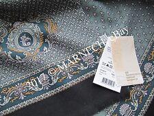 "RUSSIAN Pavlovo Posad Men's cachenez 27х140cm /11x55"" Natural Woolen scarf gift"