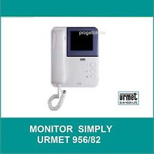 URMET 956/82 MONITOR SUPPLEMENTARE A COLORI 2 FILI SYMPLY PER KIT 956/81