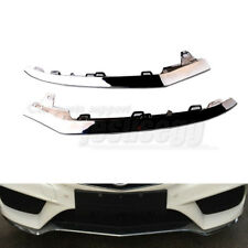 QTY2 for Mercedes W212 E350 2014-2016 Front Bumper Hand Chrome Trim Molding