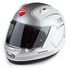 Arai Quantum Ducati Shild 14 Helm Motorradhelm Weiß Silber Gr. M 981023704
