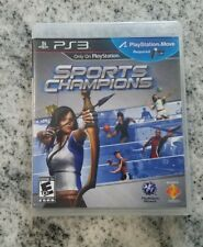 Sports Champions (Sony PlayStation 3, 2010) PS3 Game PlayStation Move required