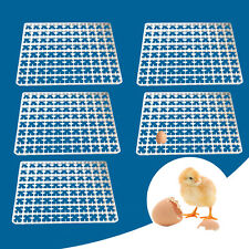 5pcs 88 Egg Incubator Tray Chicken Tray Egg Hatcher Storage Container Plastic