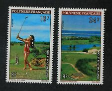 CKStamps: France Stamps Collection French Polynesia Scott#275 276 Mint H OG