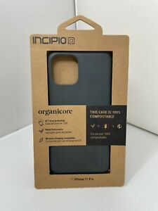 """NEW Authentic Incipio Organicore Slim Case for Apple iPhone 11 Pro 5.8"""" - Black"""