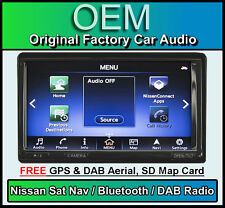 NISSAN LEAF Sat Nav auto stereo, DAB + Radio, Bluetooth vivavoce, Clarion QY-8252
