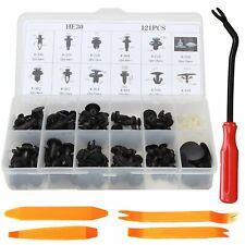 121 Clips Car Door Push Bumper Trim Body Retainer Assortment For Honda w/ Tools