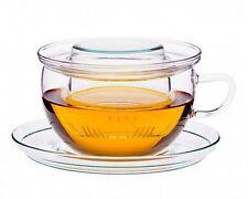 Tea Time Tasse mit Glasfilter Fa. Trendglas Jena