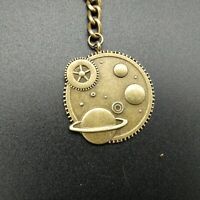 Llavero Engranaje sistema Solar Con Saturno NASA keychain saturn planet key carl