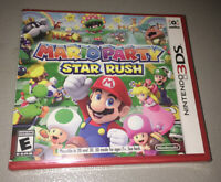 Mario Party: Star Rush (Nintendo 3DS, 2016) BRAND NEW FACTORY SEALED
