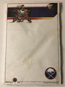 RARE 1993 Buffalo Sabres Buffalo Memorial AUD Sportpads Notepad STILL SEALED WOW