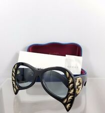 Brand New Authentic Gucci GG 0143S 001 Sunglasses GG0143 Frame