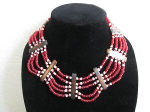 African Bead Necklace/Turkana /Kenya