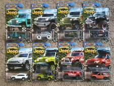 Matchbox JEEP Series 1:64 Scale Diecast (Set of 8) ANNIVERSARY LIMITED EDITION