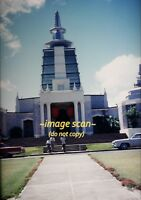 1961 Temple in Honolulu, Hawaii, Original Slide c27a