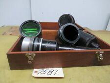 J Amp L 30 Optical Comparator Lens Assortment 5 Pieces Ctam 7581
