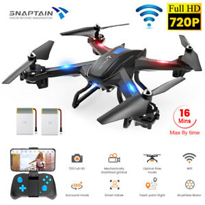 SNAPTAIN S5C WiFi FPV Drone 720P HD Camera Voice Control RC Quadcopter Brushless