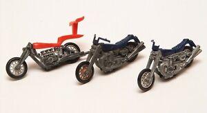 Vintage Original Mattel Redline era Rrrumbler lot of 3 Hi Tailer Mean Machine X2