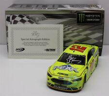 RYAN BLANEY #12 2018 AUTOGRAPHED CAN AM DUEL WIN 1/24 NEW IN STOCK FREE SHIPPING