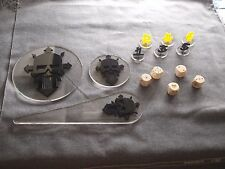 Warhammer 40K 40000 Blast Templates, Dices, Tactical Bundle Iron Warriors FW