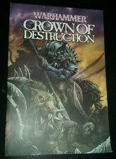 Warhammer, Crown of Destruction by Kieron Gillen fine tpb trade paperback game