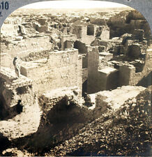Keystone Stereoview of the Palace of Nebuchadnezzar in IRAQ from 1930's T600 Set