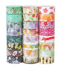 Washi Masking Tape Set of 24, Decorative Masking Tape Collection,Tape for DIY