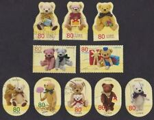 Japan 2012 G62 Greetings Autumn TERRY BEARS stamps 10v USED