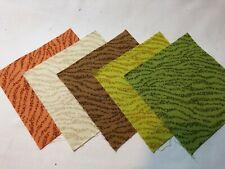 """40 5"""" Quilting Fabric Squares Pre Cut Quilting Lime Orange Tonal"""