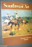 Southwest Art Annual Collector's Edition October 1979 Magazine Back Issue