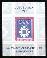 Yugoslavia - 1983 Olympic games Sarajevo Mi. Bl. 22 MNH